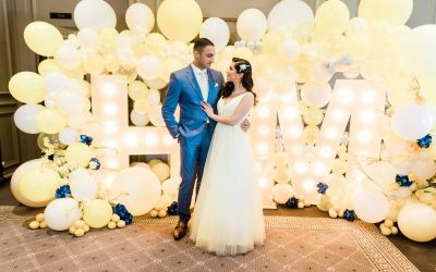 Acklam Hall: Maryam and Hamza's Sorrento-themed Engagement Spectacular