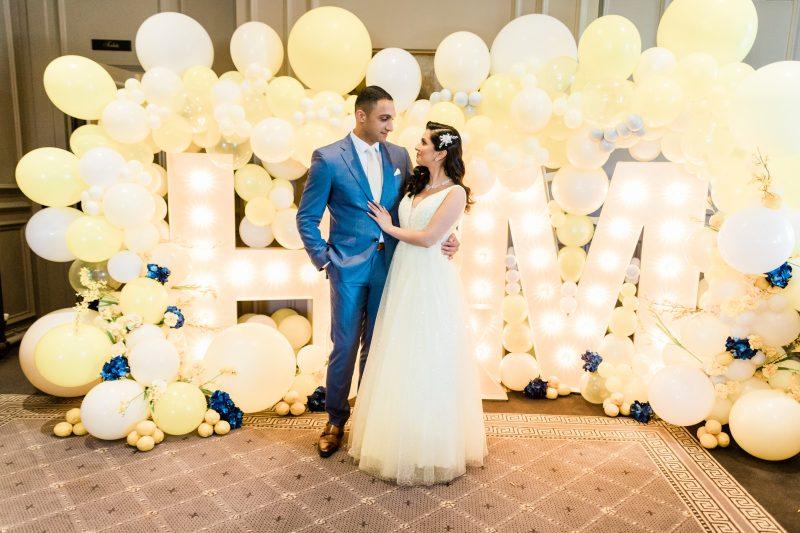 Acklam Hall: Maryam and Hamza's Sorrento-themed Engagement Spectacular